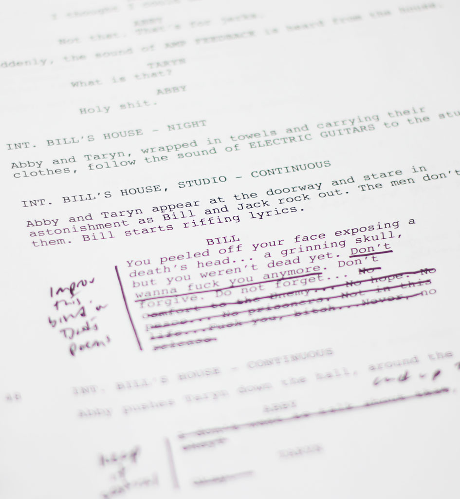 Excerpt from Script